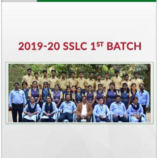 2019-20 SSLC 1st Batch